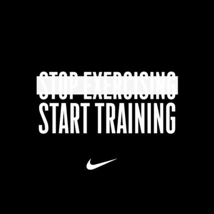 NIKE+STOP+EXERCISING+START+TRAINING