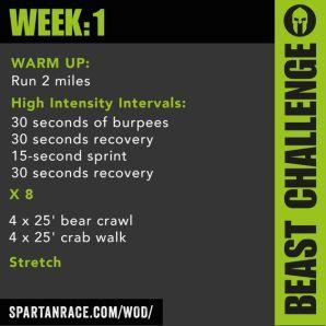 Beast week1