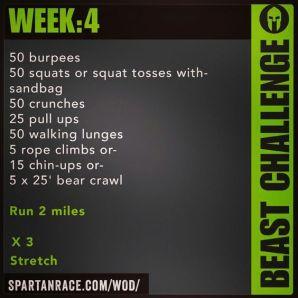 Beast week4