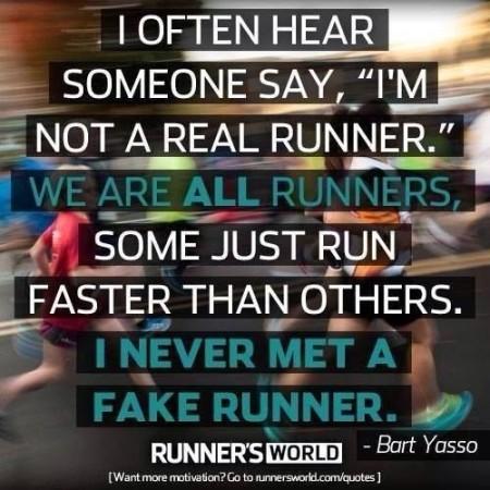 not a real runner