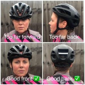 Cycling Helmet demonstration
