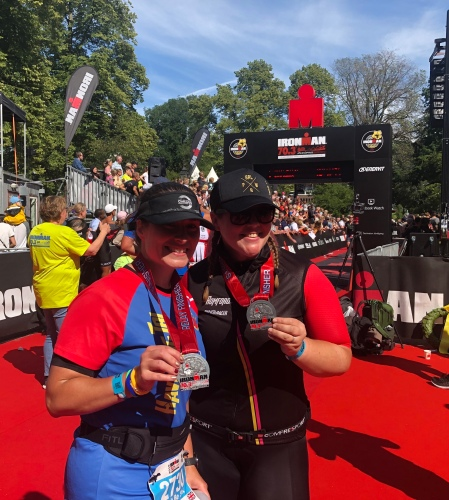 Ironman Jonkoping 70.3 Finish Line