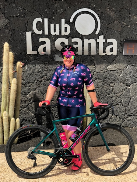 Cycling from Club La Santa